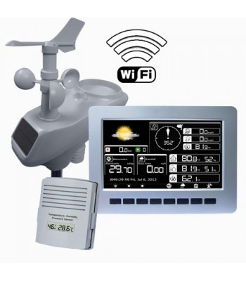 Wireless Weather Station with Wi-Fi and TFT Colour Display